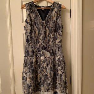 Abstract patterned dress